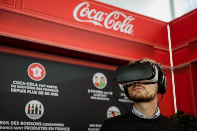 coca cola réalité virtuelle