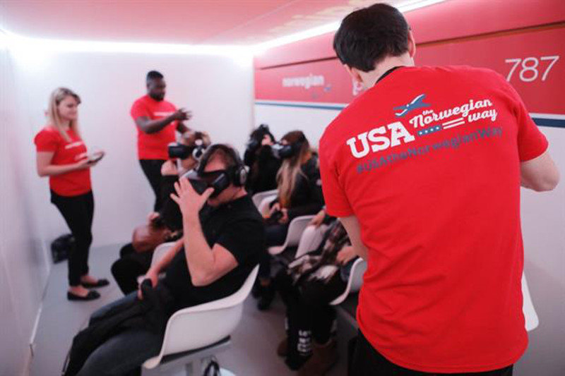 norwegian réalité virtuelle