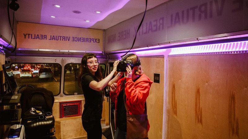 camion réalité virtuelle