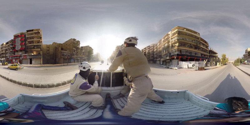 Syrie réalité virtuelle